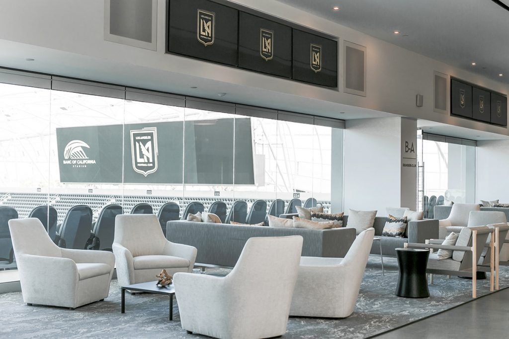 Lounge Area view of Founders Club