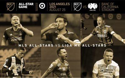 MLS vs LIGA MX | El Juego de las Estrellas de la MLS 2021, presentado por Target, se celebrará el 25 de agosto en Los Ángeles
